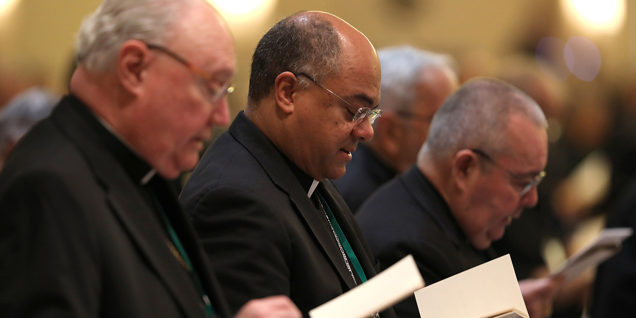 Bishops elect new leadership, approve action items at USCCB fall meeting