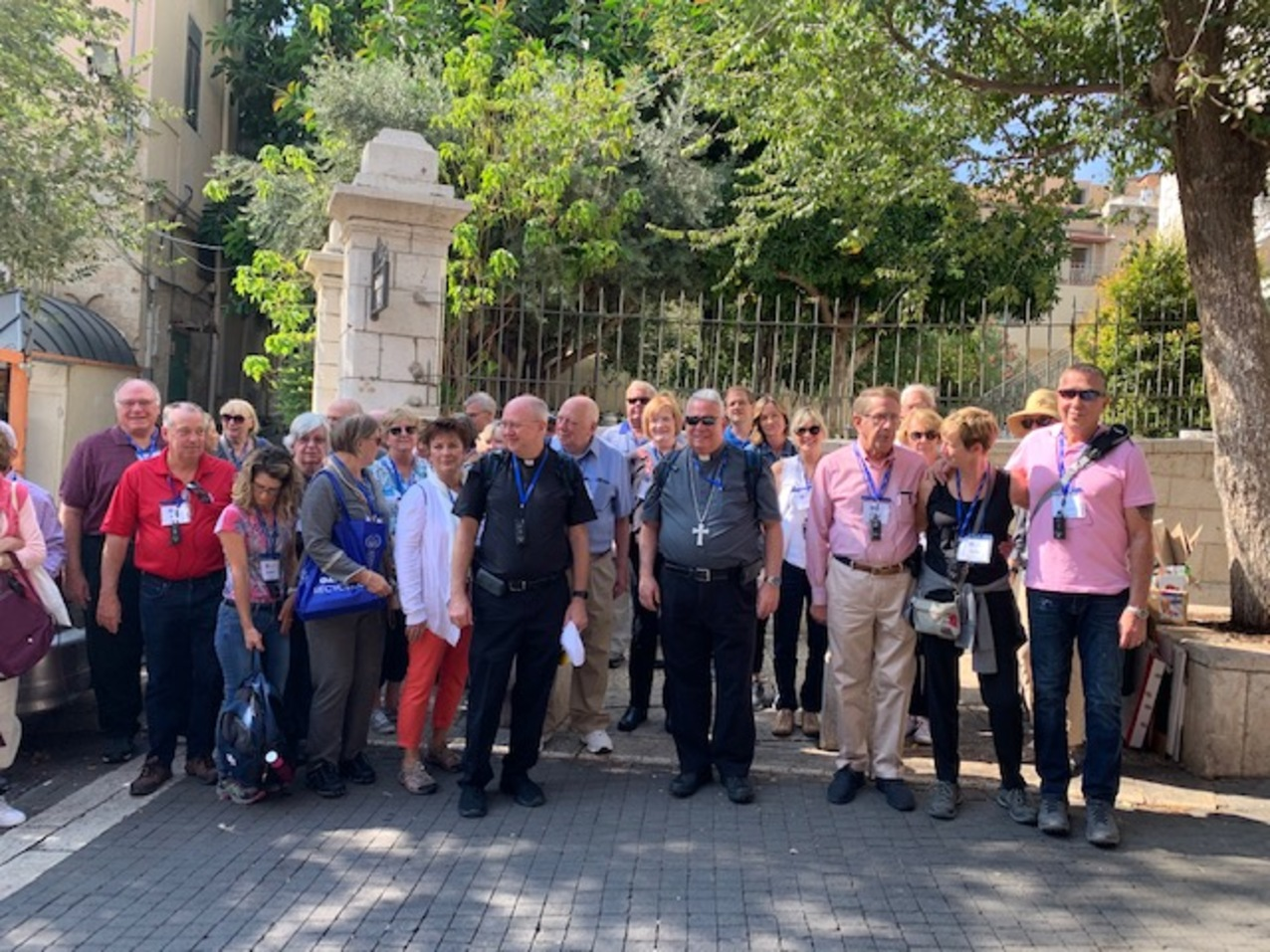 Pilgrimage to the Holy Land – Day 4: Where Jesus preached and pondering our spiritual blessings