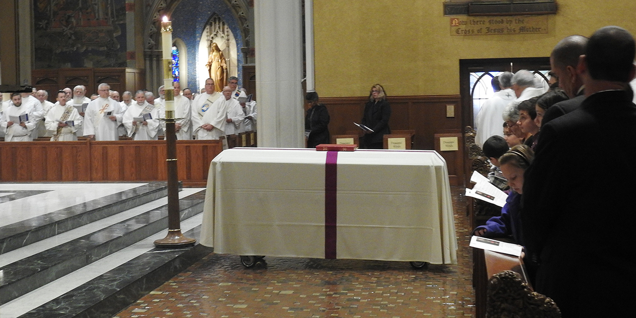 Bishop Richard Lennon is laid to rest at Cathedral of St. John the Evangelist
