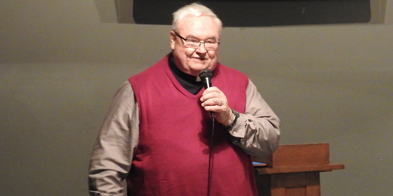 Father Weist shares his 50 years of priesthood with Theology on Tap West