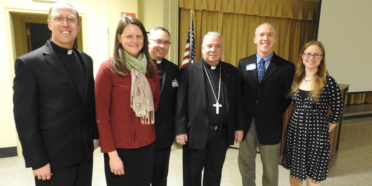 Love, marriage are topics of Bishop Perez's address to Regnum Christi gathering