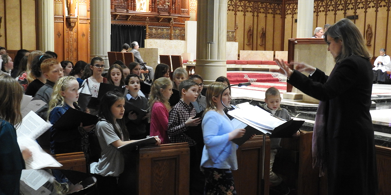 Second Diocesan Children's Choir Festival culminates at cathedral Mass