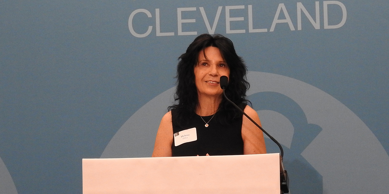 First Friday Club of Cleveland hears about the tragedy and