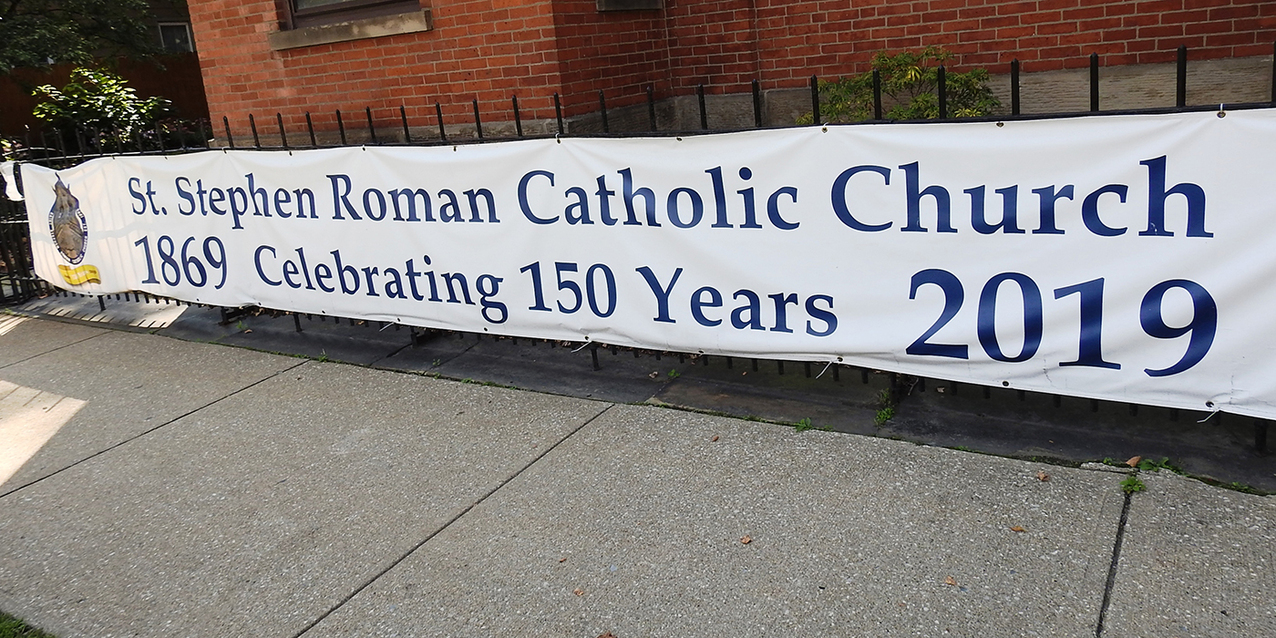 St. Stephen Parish recalls past, looks to future, rejoices on 150th anniversary