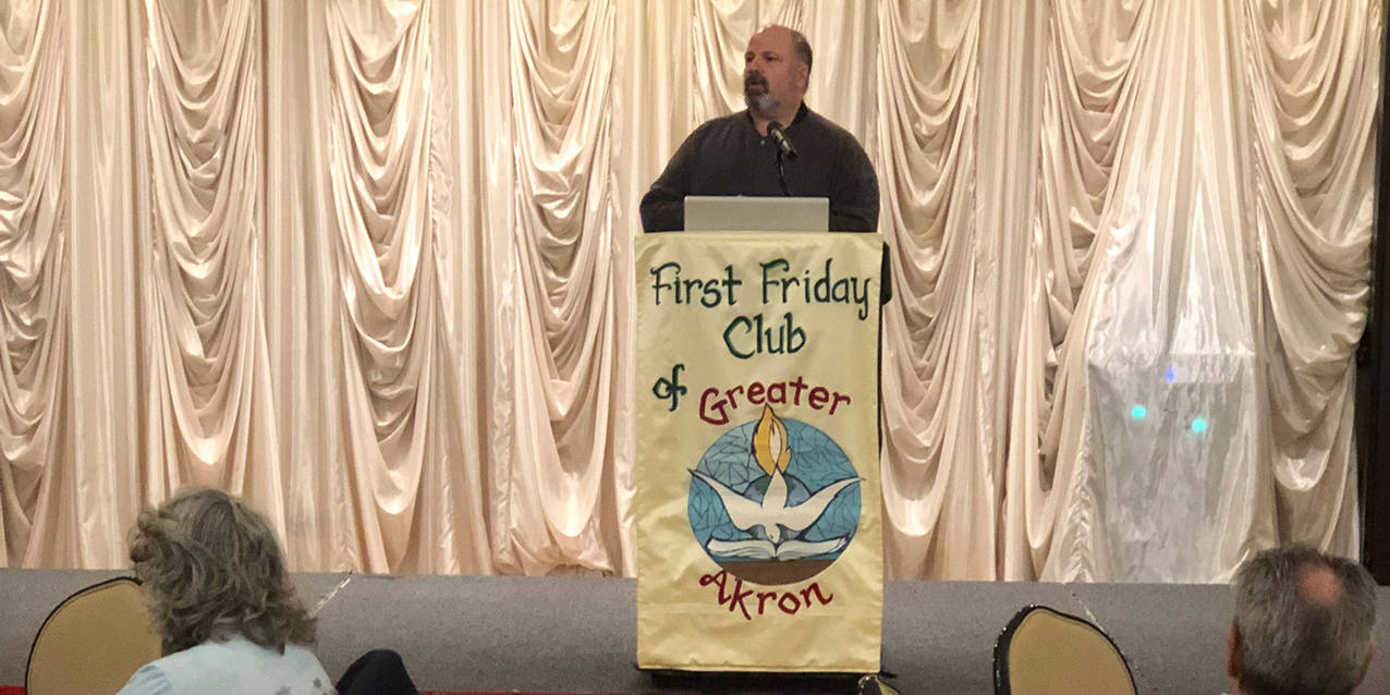 Deacons explain their role in the Church at First Friday Club of Greater Akron
