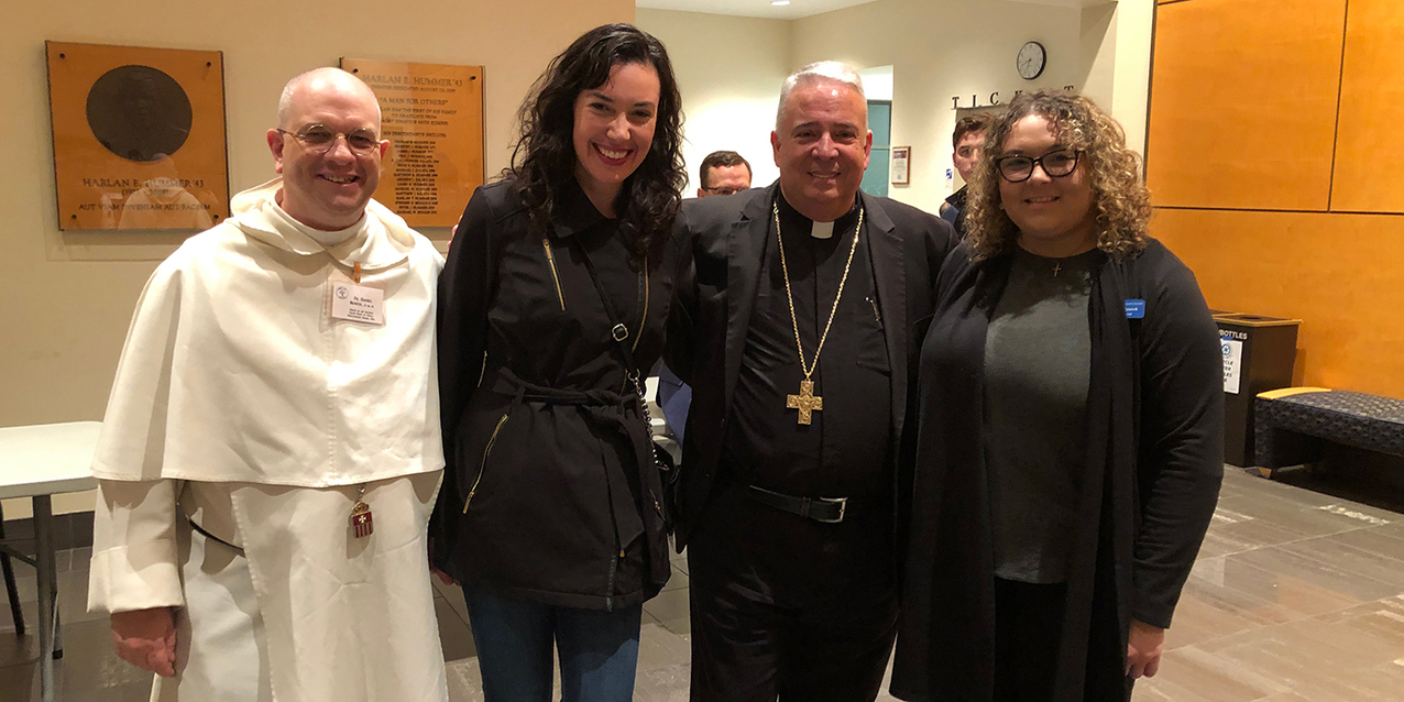 YCP hears from Bishop Perez as part of Executive Speakers Series