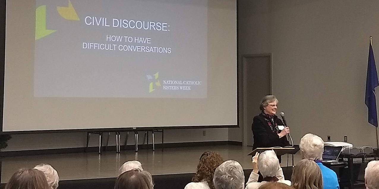 Discussion on civil discourse, difficult conversations highlights