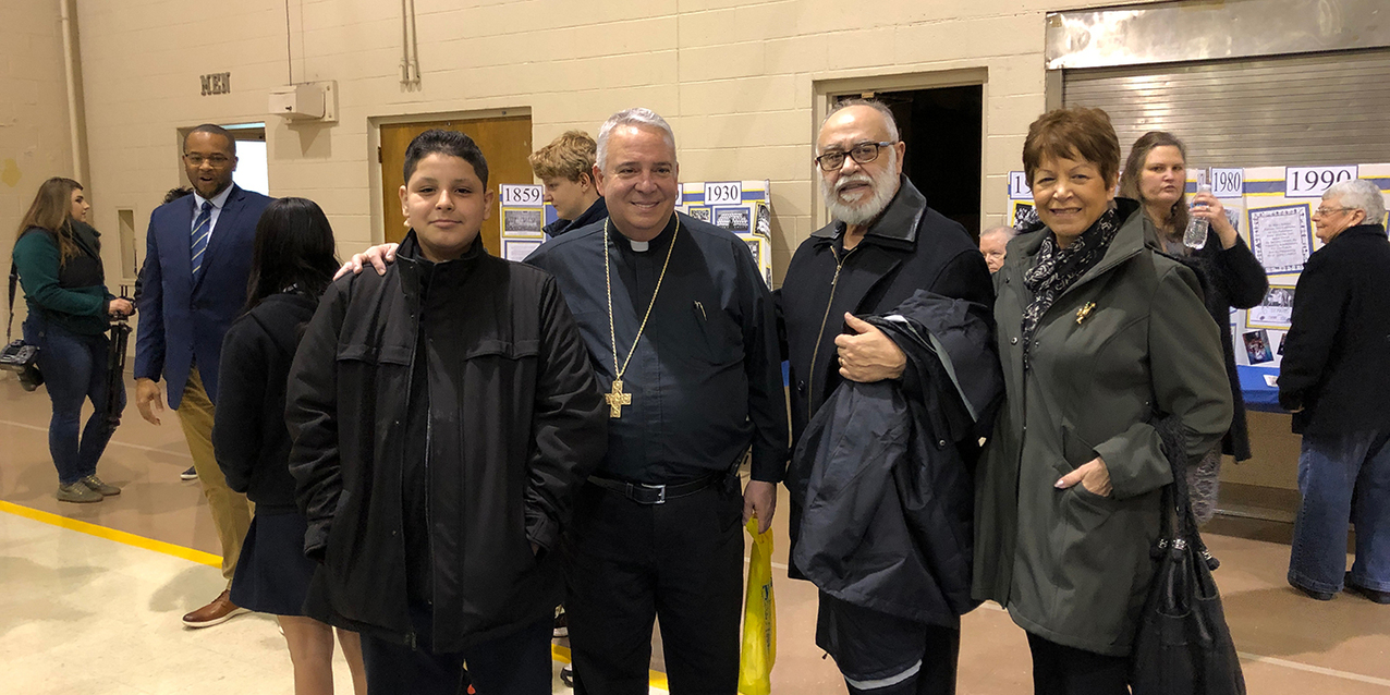 St. Mary School, Elyria marks 160th anniversary, Catholic Schools Week with visit from Archbishop-designate Perez