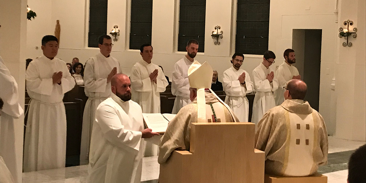 Seven seminarians instituted into ministry of lector