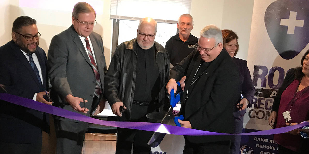 St  John the Baptist Recovery Outreach Center opens in Akron