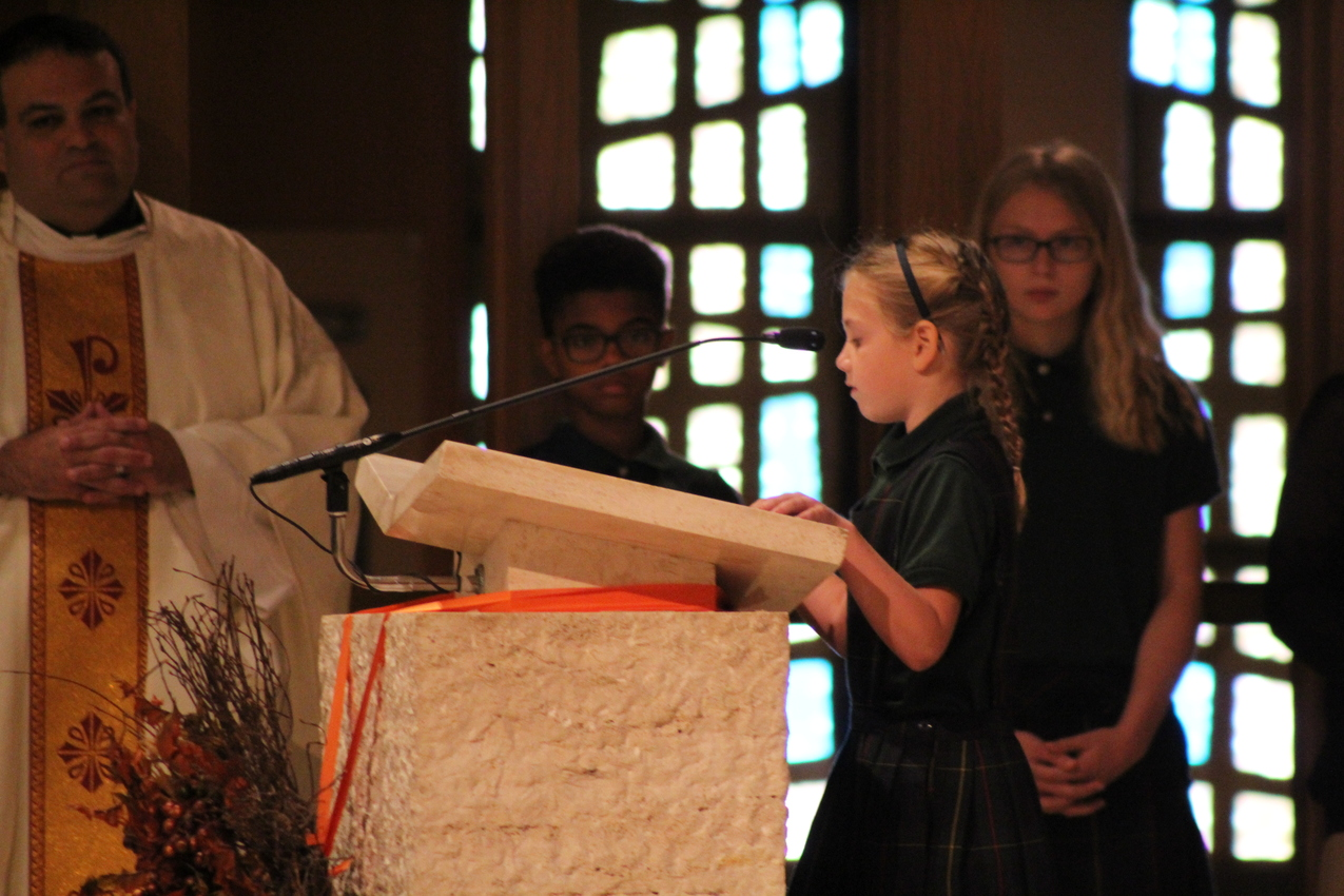 SS. Robert & William School shares 'There's No Place for Hate' in weekly liturgies