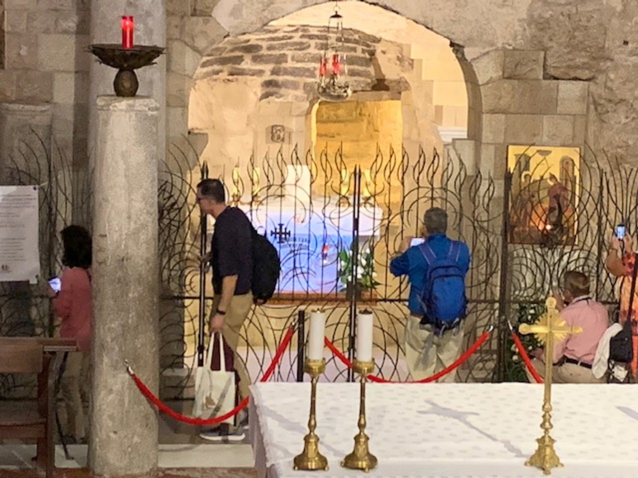 Pilgrimage to the Holy Land - Day 3: Mary's role in Jesus ...