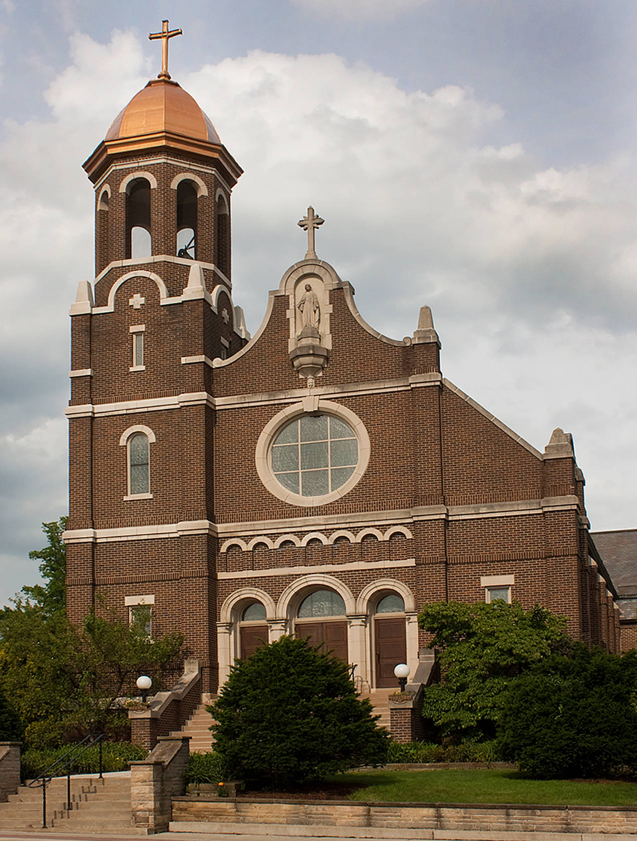 St Mary Of The Immaculate Conception In Wooster