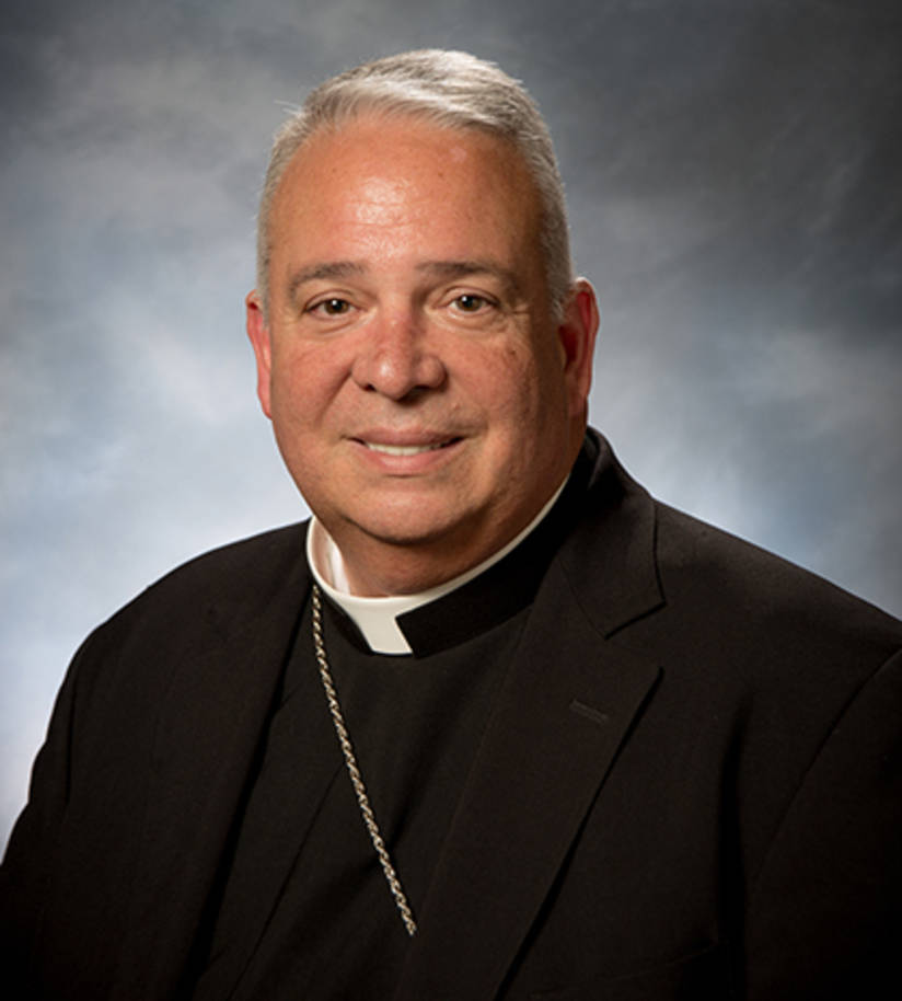 Bishop perez black suit
