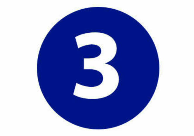 Three in circle